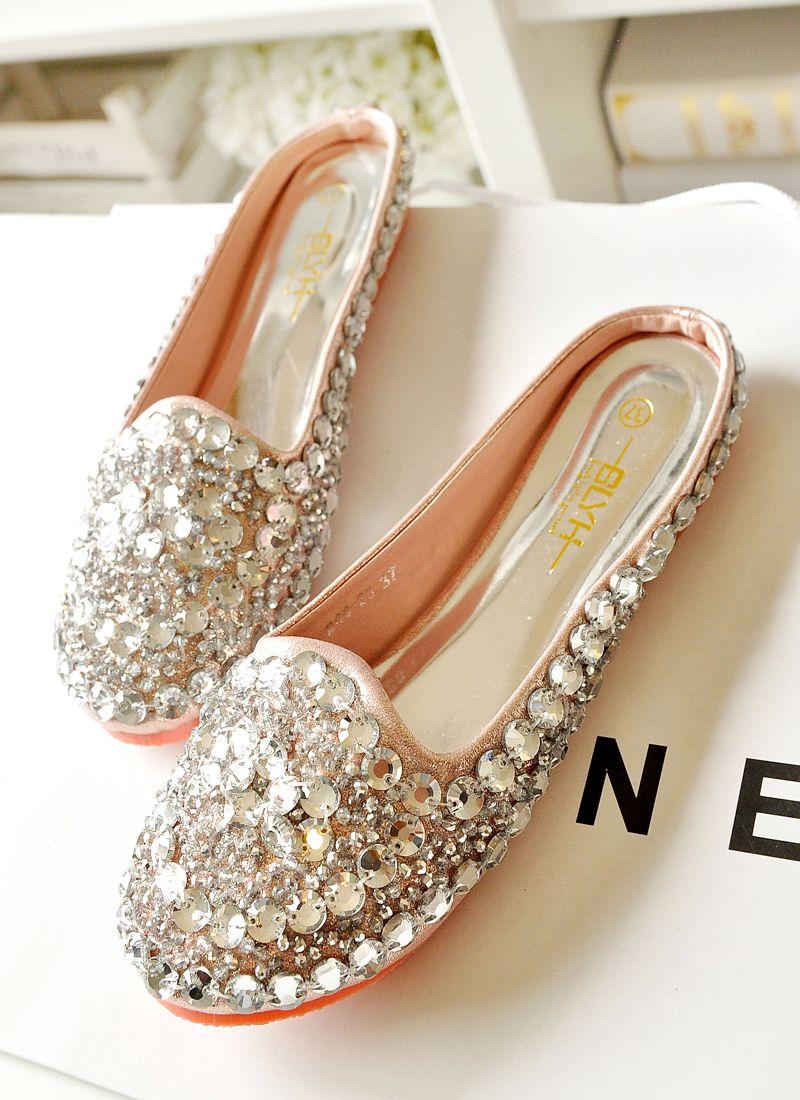 Women's sandals with bling - Unique Flat Sandals Women S Shoes