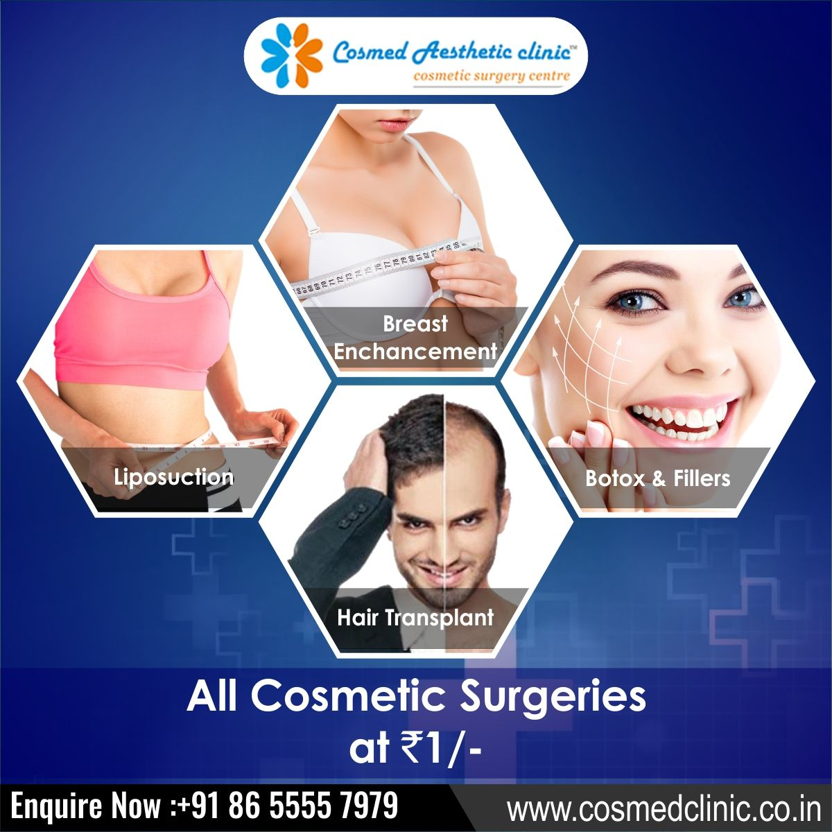CosmedAestheticClinic is one of the Latest & Advance