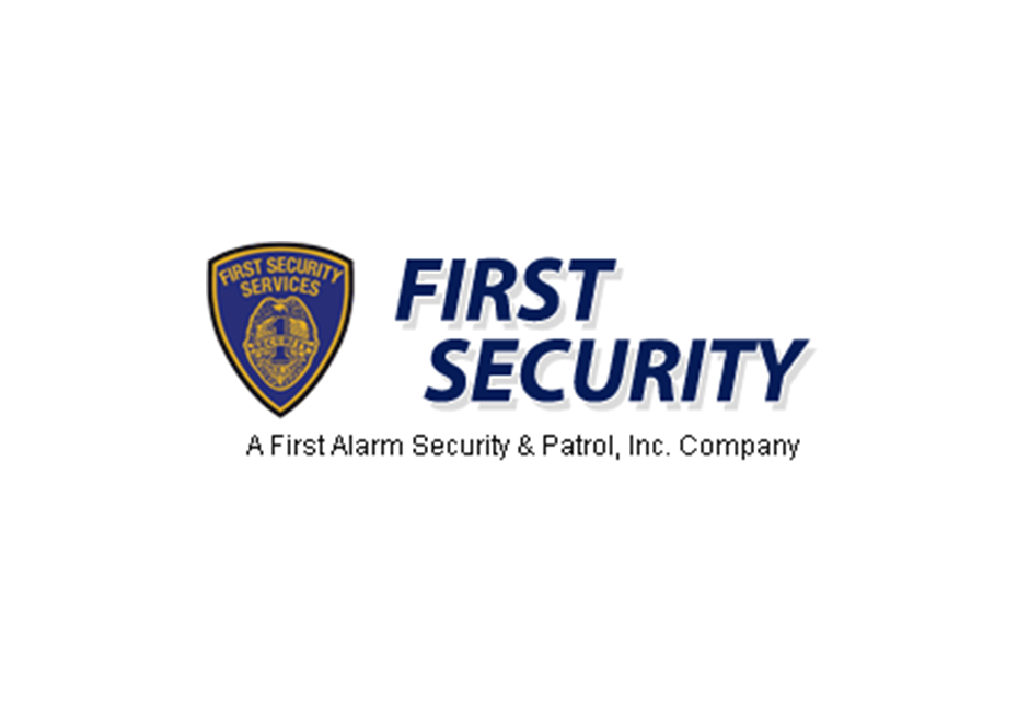 First Security Services Security Service Security Security Guard Companies