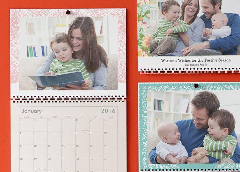 Wall Calendars Custom Photo Calendar Personalised Calendar