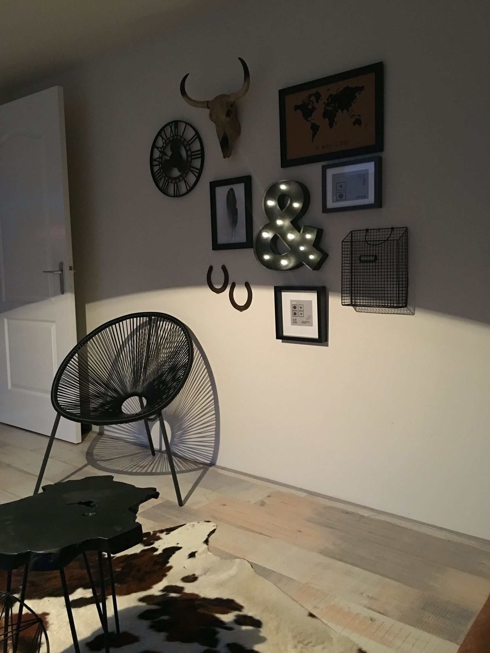 Muurdecoratie industrieel sfeerlicht idee n nieuw interieur 2017 pinterest industrieel - Nacht kamer decoratie ...
