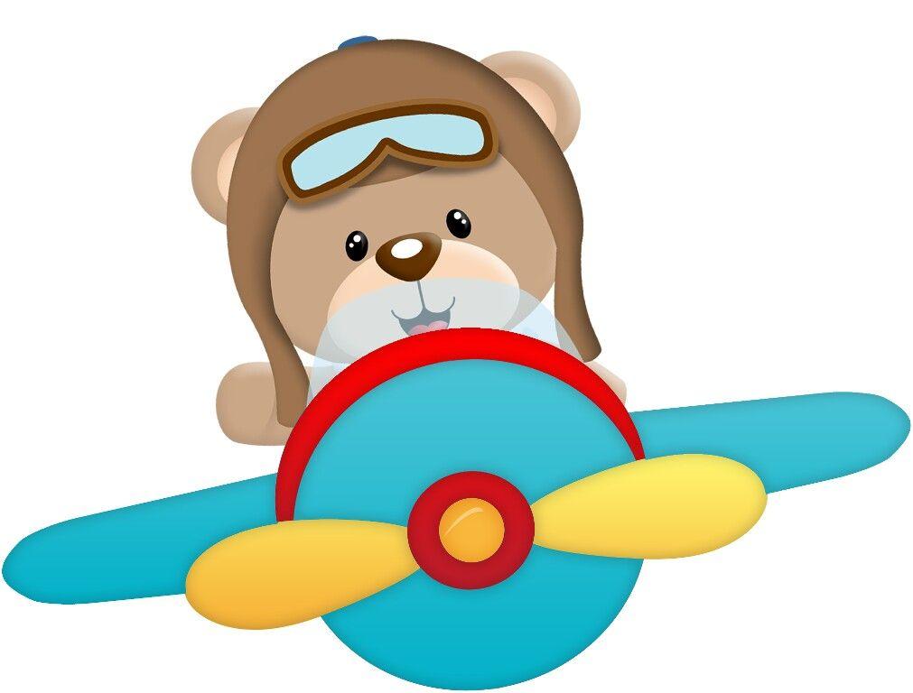 Urso Festa Do Bento Desenho De Urso Ursinho Aviador Ursinho Png
