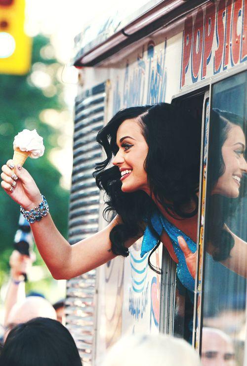Cute she is a ice cream girl