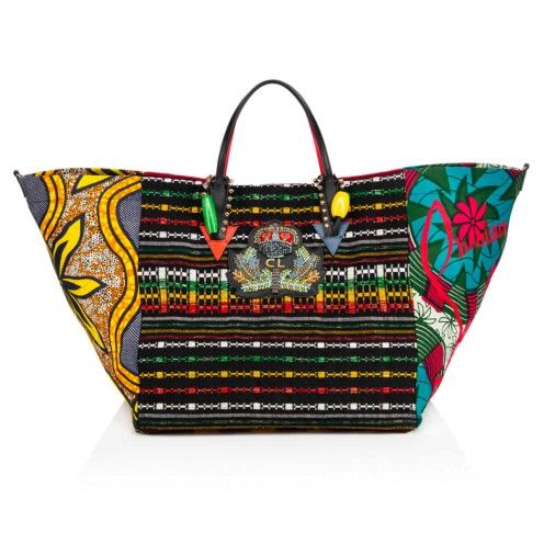 60e06ded06c Bags - Africaba Tote Bag - Christian Louboutin | shoes Christian ...