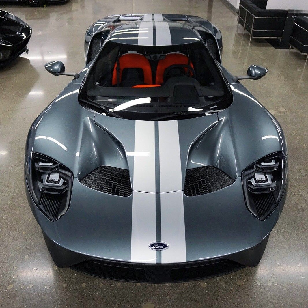 Ford Gt Liquid Grey With Launch Control Interior
