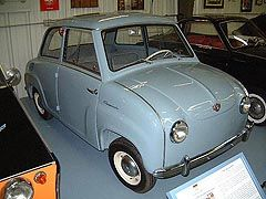 1958 Goggomobil T 250 Sedan Also Known As The Limosine In Germany