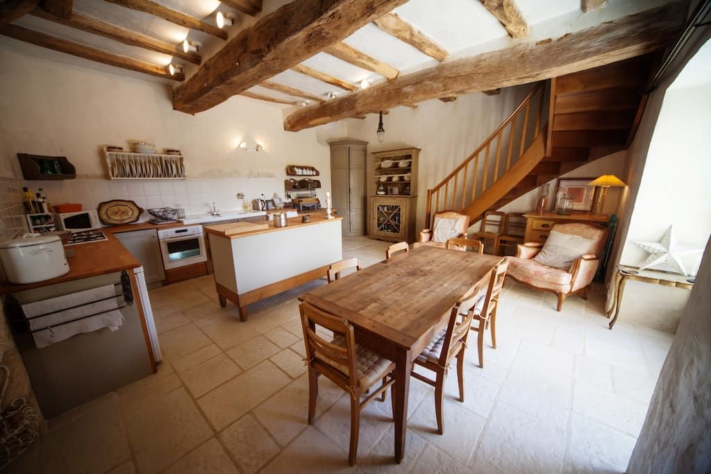 Beautiful Village House With Stunning Views   Houses For Rent In  Angles Sur Lu0027Anglin, Poitou Charentes, France