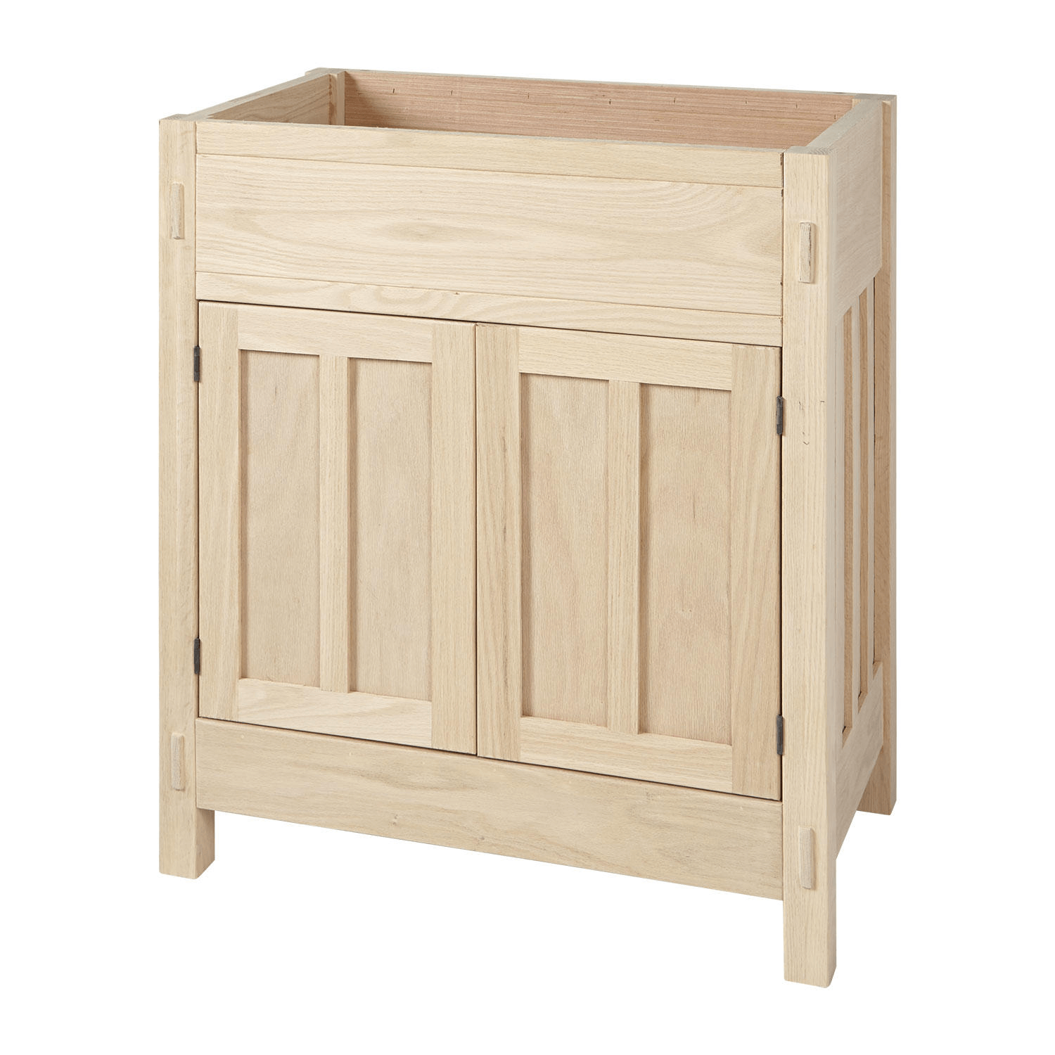 Mission Hardwood Unfinished Bathroom Vanity Base Unfinished Bathroom Vanities Wood Bathroom Vanity Bathroom Vanity Base