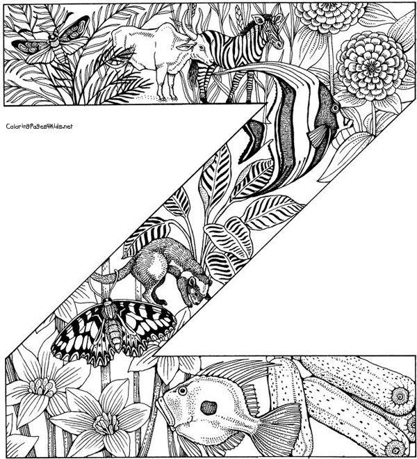 zforest alpha alphabet coloring pages animal coloring pages printable coloring pages. Black Bedroom Furniture Sets. Home Design Ideas