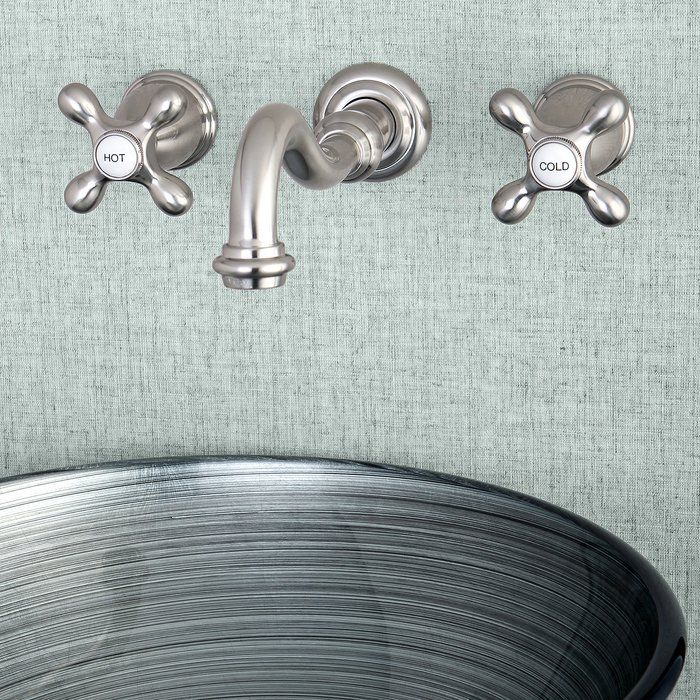 Photo of Vintage Wall Mounted Bathroom Faucet