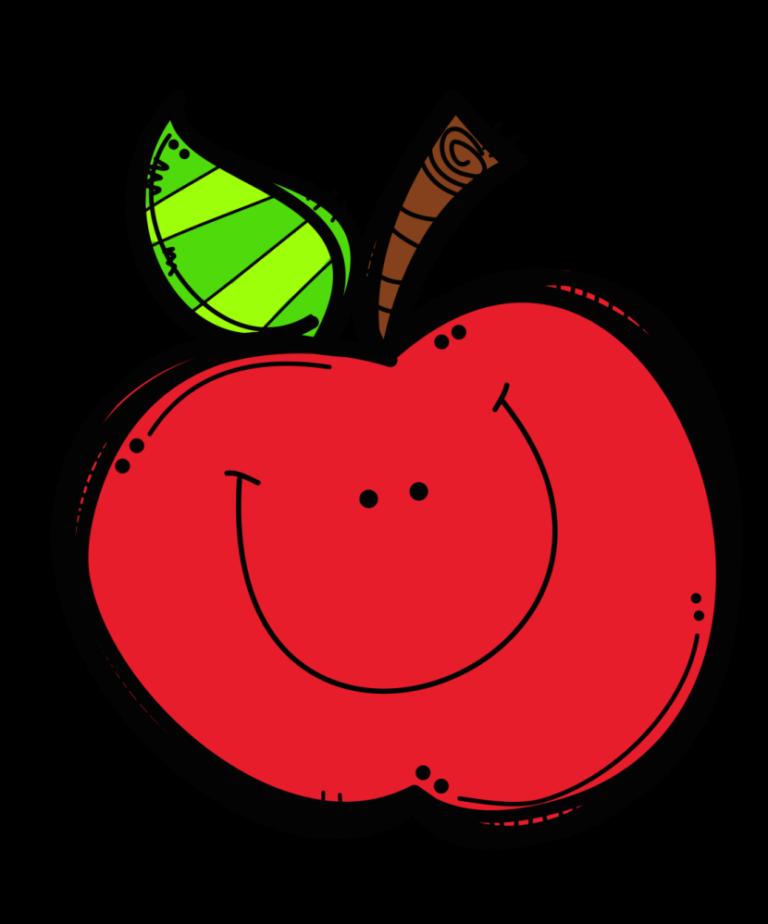 Teacher Apple Clipart 3 Teachers Apple clip art, Clip