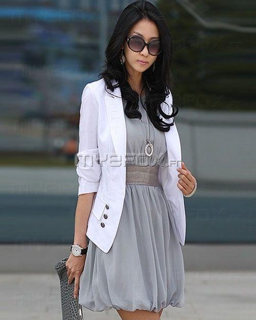 Veste femme style tailleur