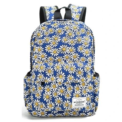 Plecak W Kwiaty Rozne Wzory Bad N Cute Canvas Backpack Women Womens Backpack School Bags For Girls