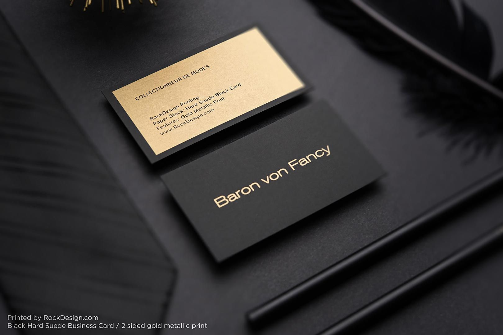 Corporate visiting card template photo 1 1 stationary print business cards online with our free templates using gold ink our suede template is the perfect luxury card reheart Images