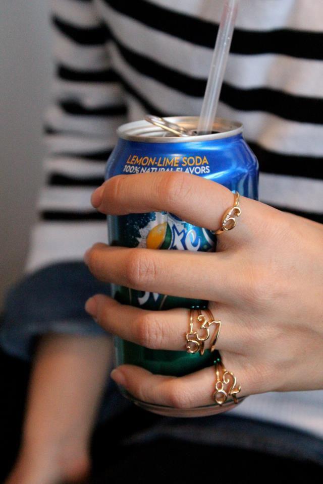 Lulu Frost CODE rings & Sprite