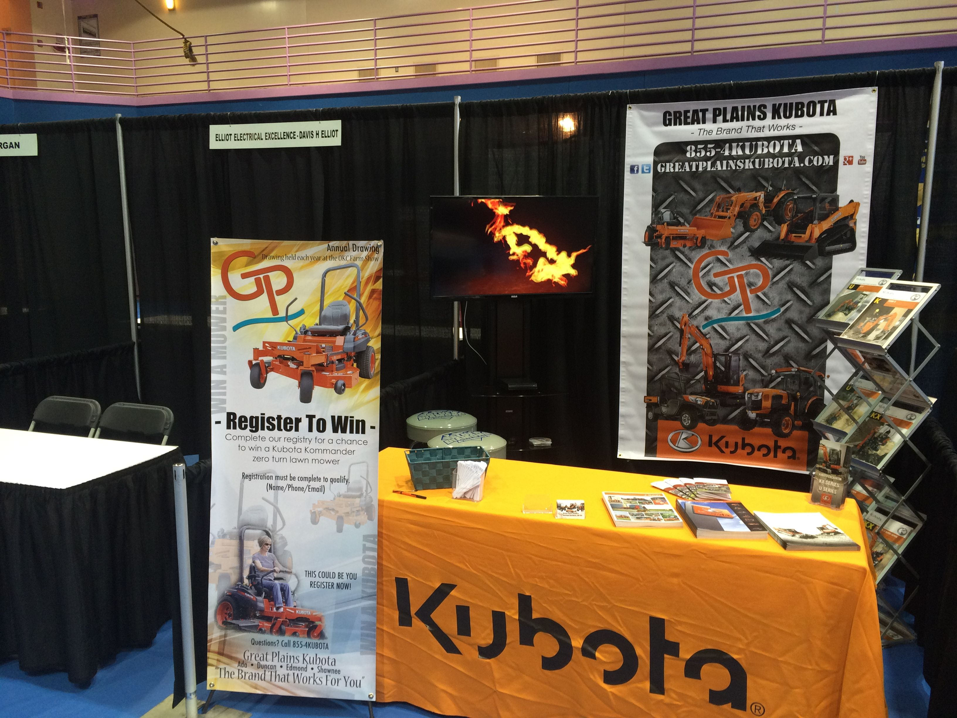 thebrand on location at the OKIE 2015 Excavator Safety Expo