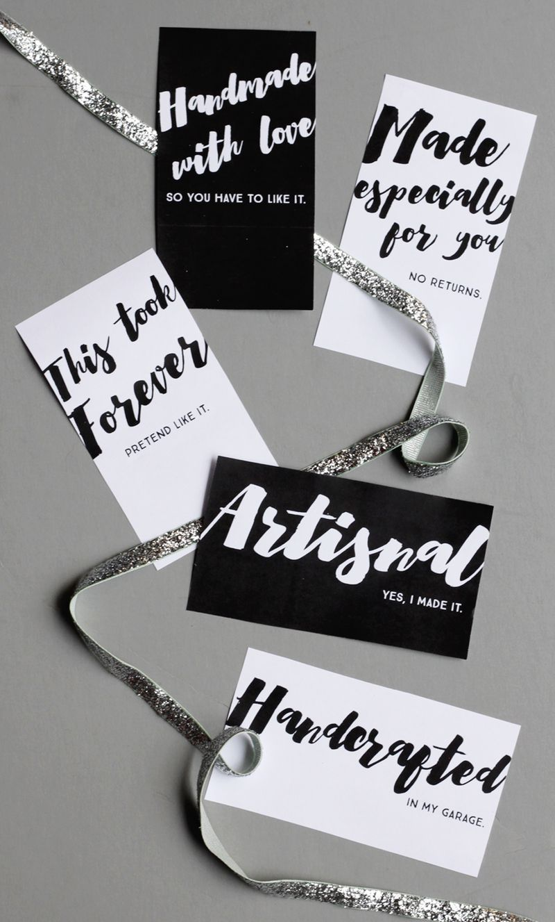 Free printable gift tags for your handmades plus my new favorite free printable gift tags for your handmades plus my new favorite handmade gift negle Choice Image