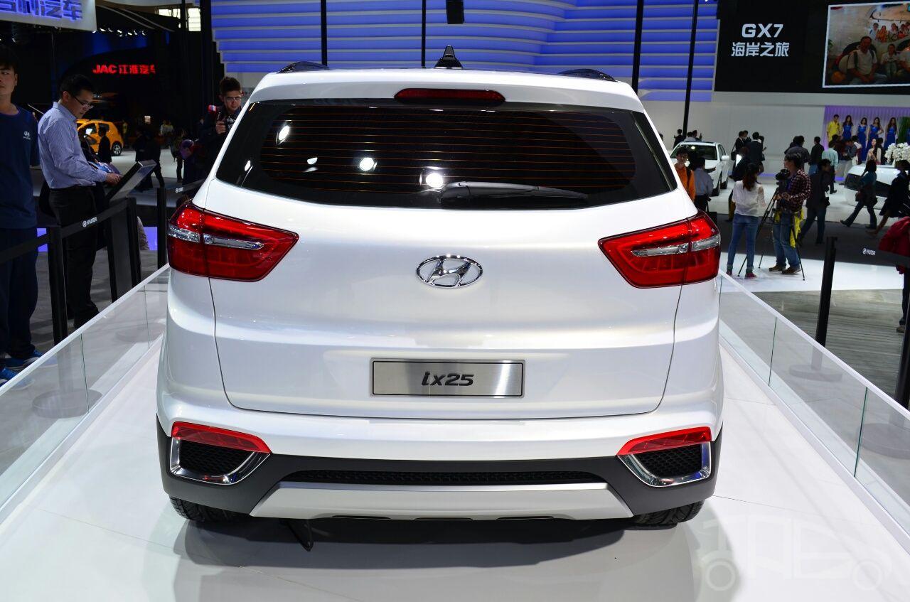 2014 Hyundai ix25 Rear Hyundai, Hyundai motor, Car