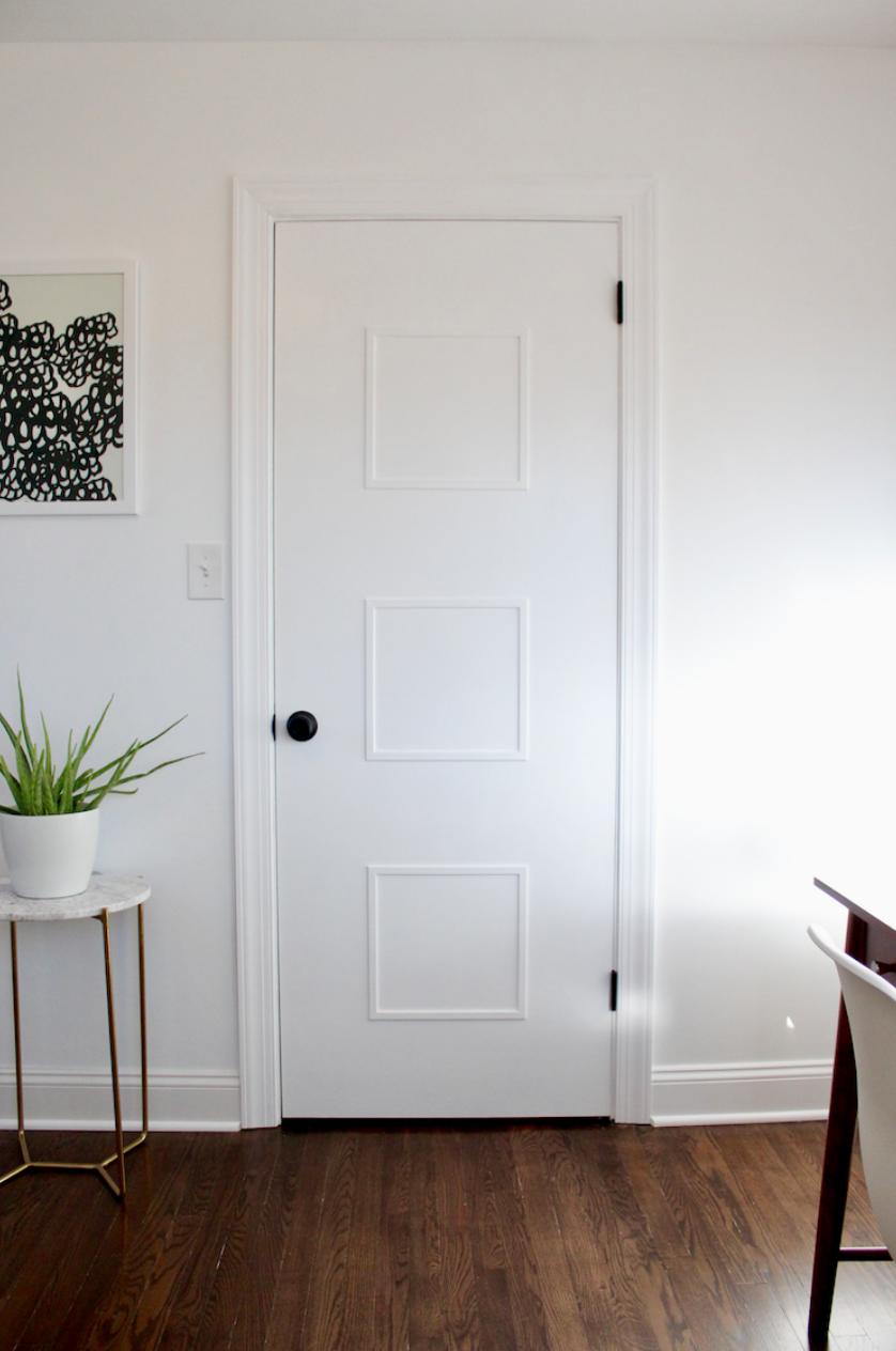 Diy Mid Century Door Makeover Doors Interior Modern Diy