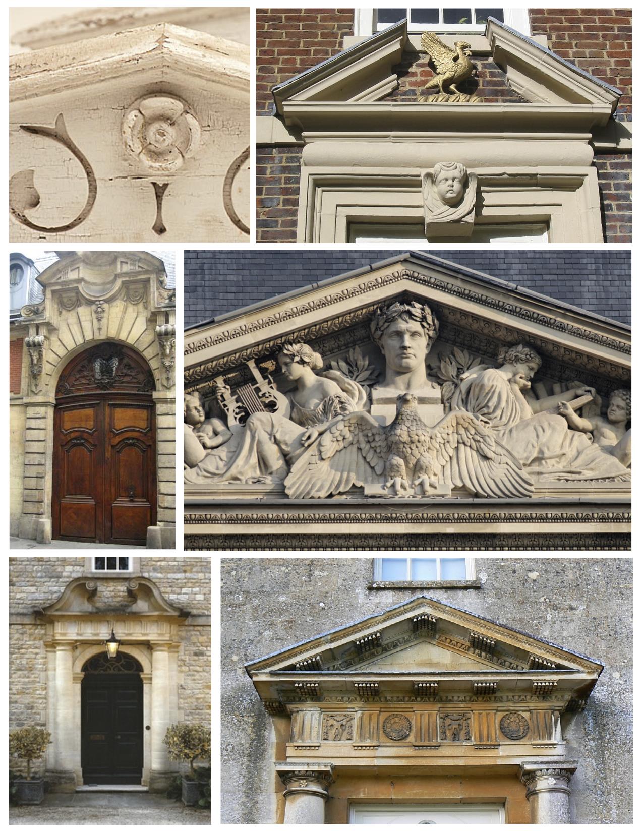 Pediments Classical Elements Of Ancient Architecture ...