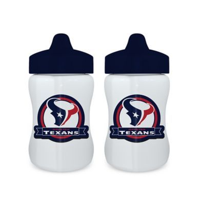 b41ab1d1d Baby Fanatic Nfl Houston Texans 9 Oz. Sippy Cups In Blue/red (Set Of ...