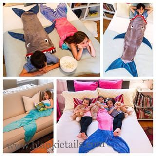 Blankie Tails - Mermaid & Shark Blankets for the Loves in Your Life