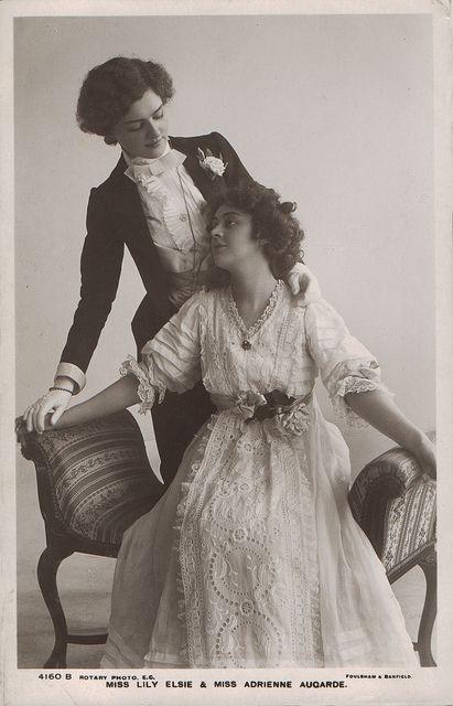Vintage lesbiens