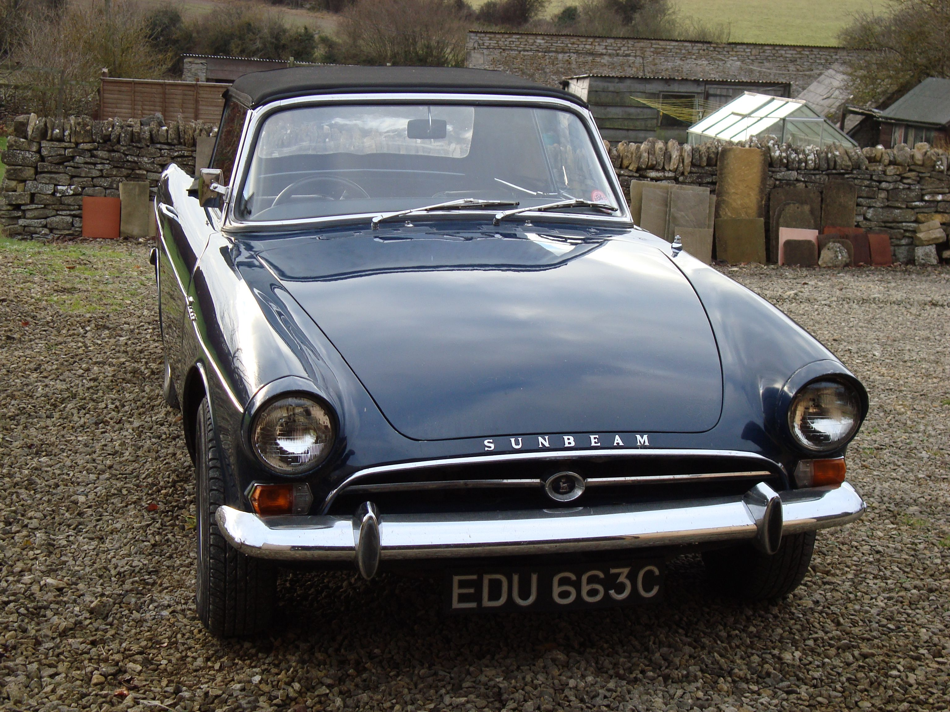 vintage car sunbeam tiger | 1965 Sunbeam Tiger EDU 663C - Classic Car Link - Find Your Old Car