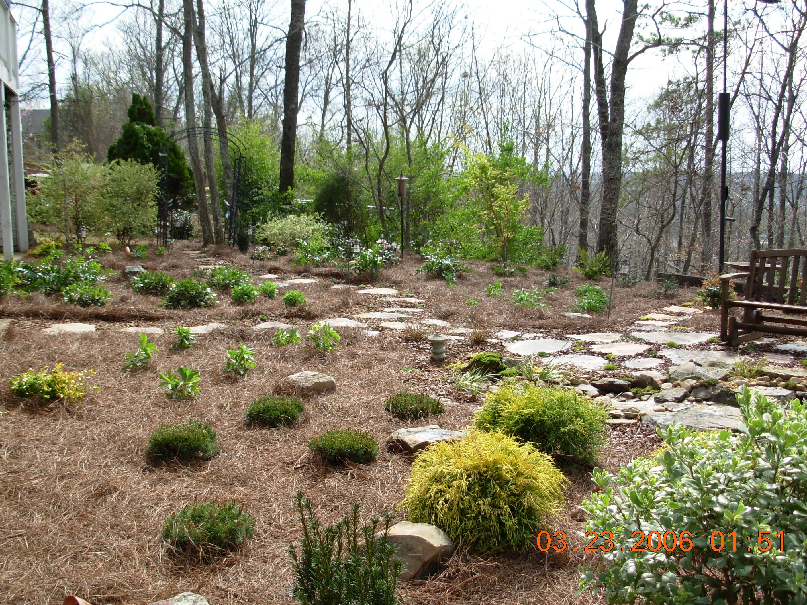 Nice Landscape Design By Andyu0027s Landscape Service In Birmingham, AL. Water  Feature, Flagstone Patio