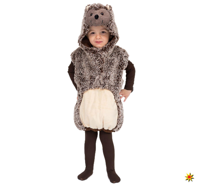 Kinder Kostum Igel Mecky In 2020 Kinder Kostum Braune Weste Und