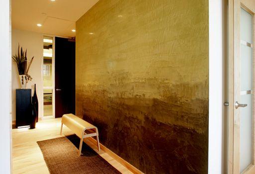 Venetian Plaster walls inspired by the artist Mark Rothko as created ...