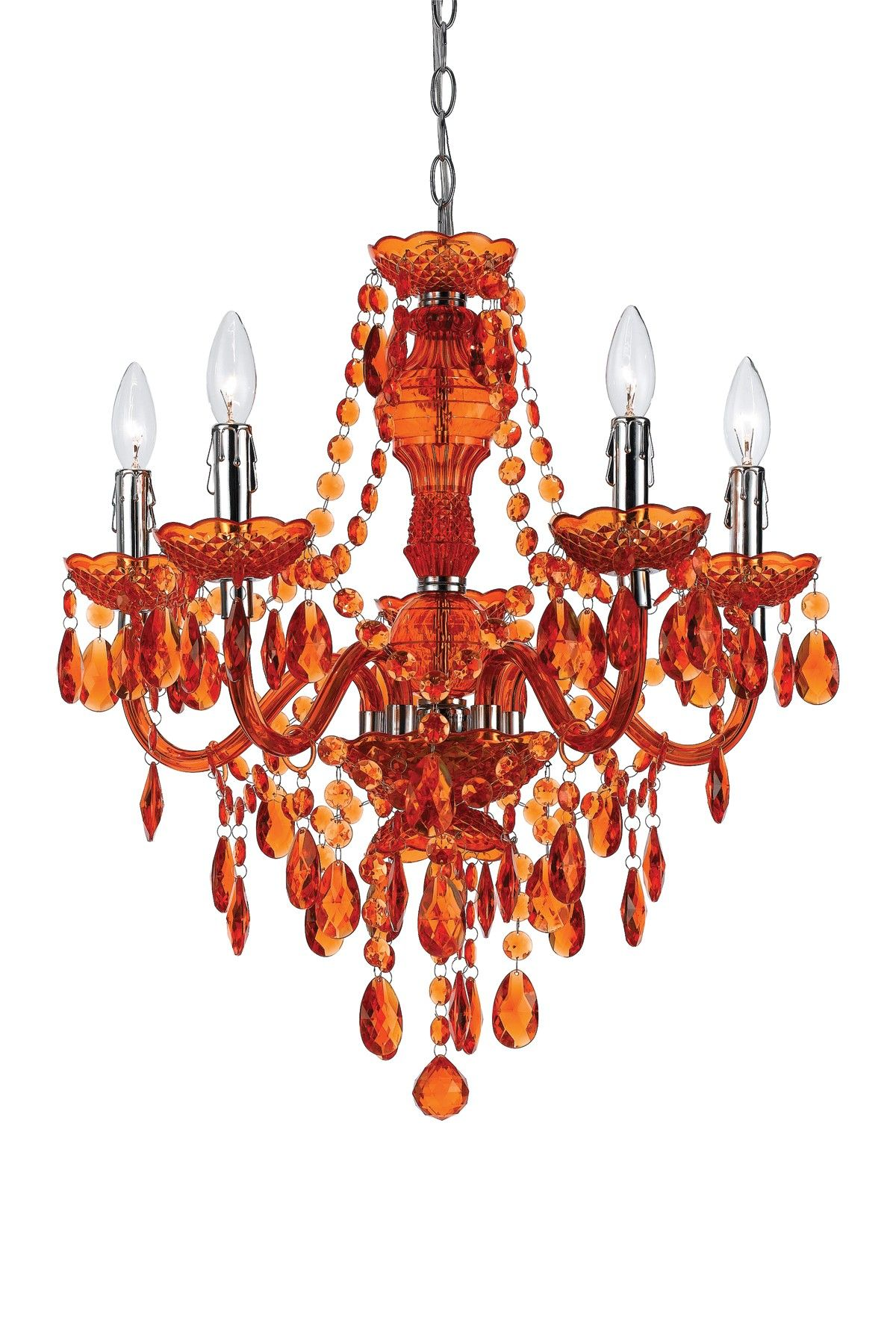 AngeloHOME Fulton Light Chandelier For The Wall Pinterest - Orange chandelier crystals