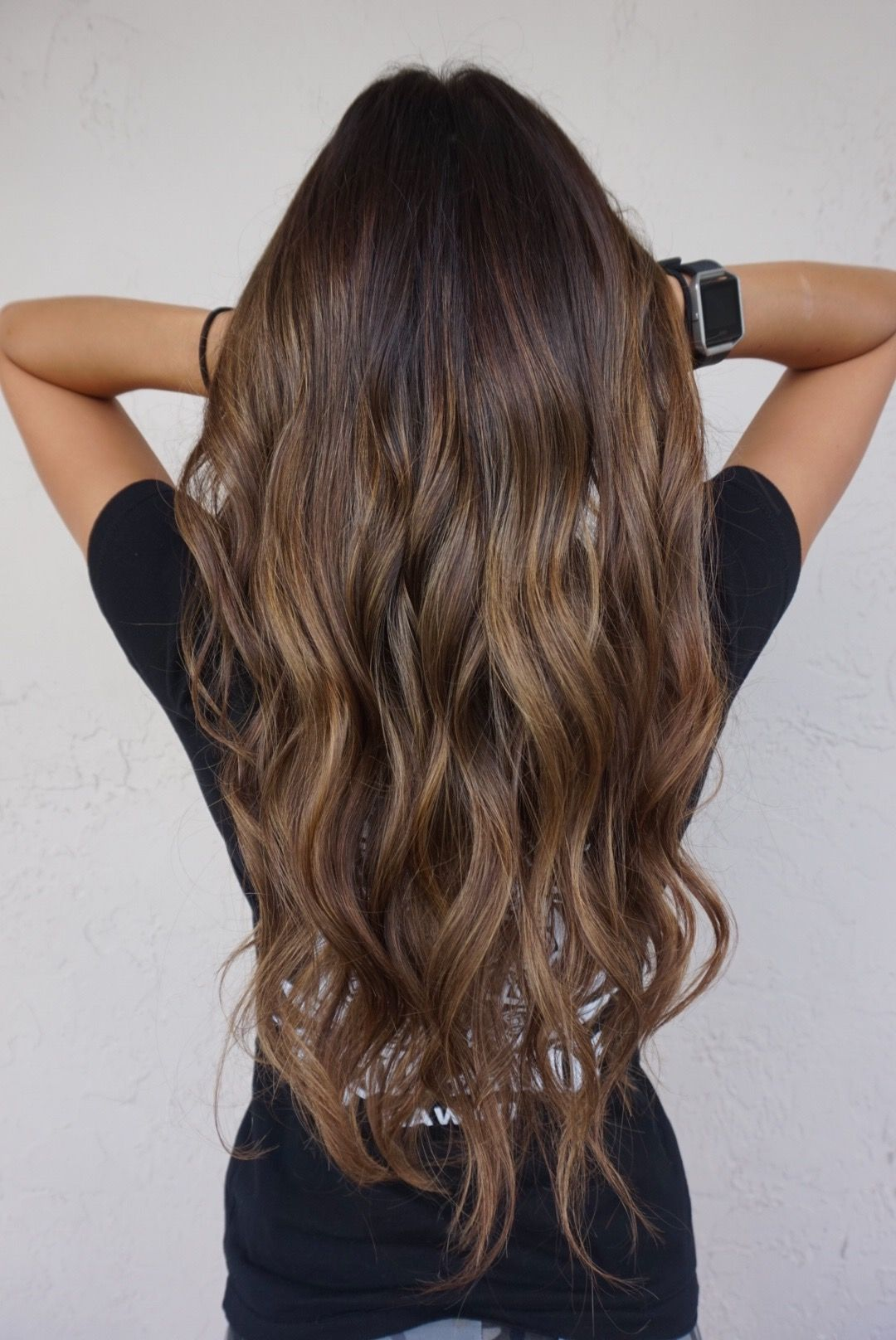 blondebobbypin caramel mocha balayage highlights | coiffures en 2018