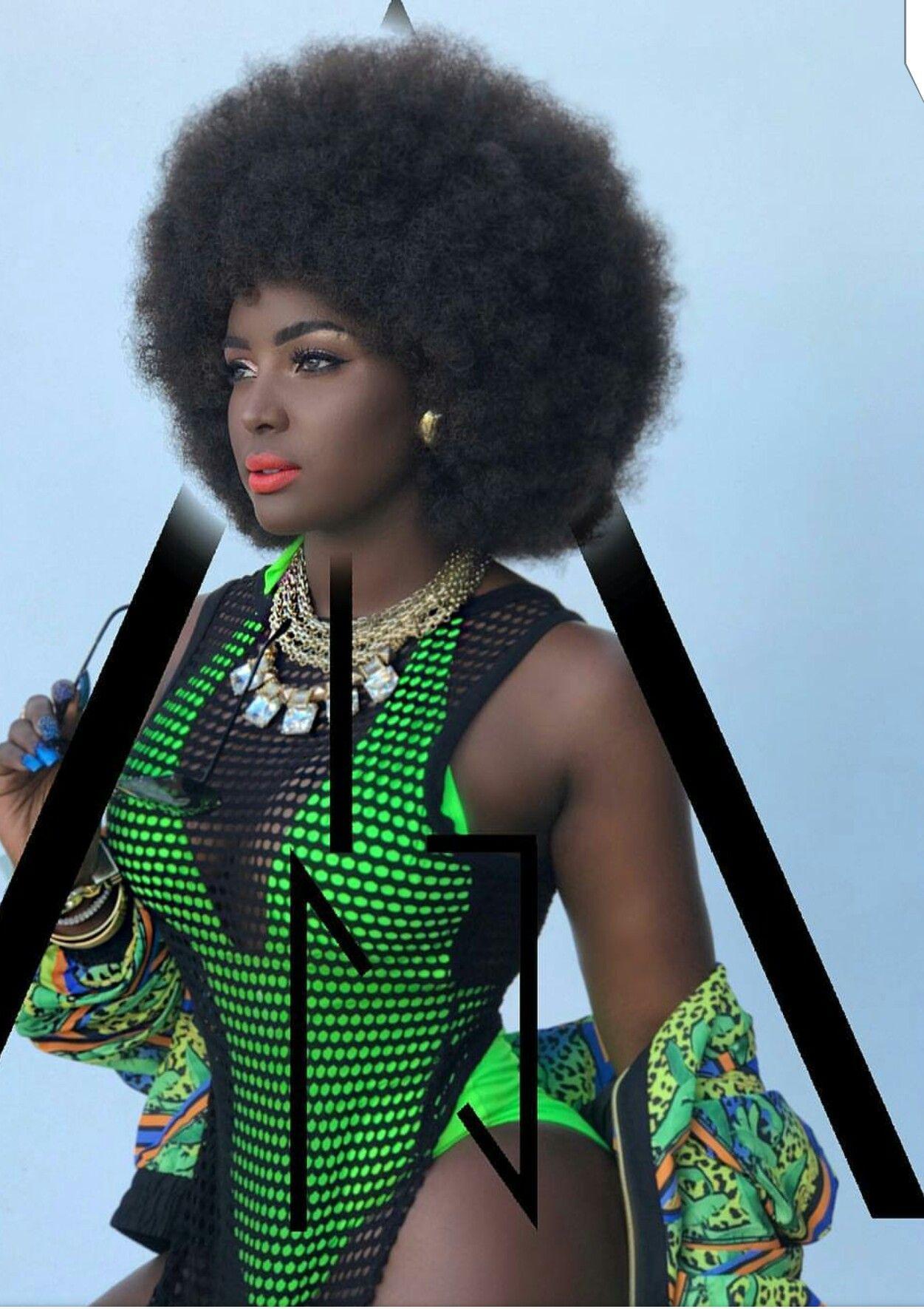 Afro Ebenholz