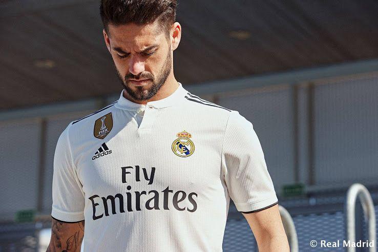 98b3589ad9e Adidas Real Madrid 18-19 Home   Away Kits Released + Third Kit Leaked -  Footy Headlines