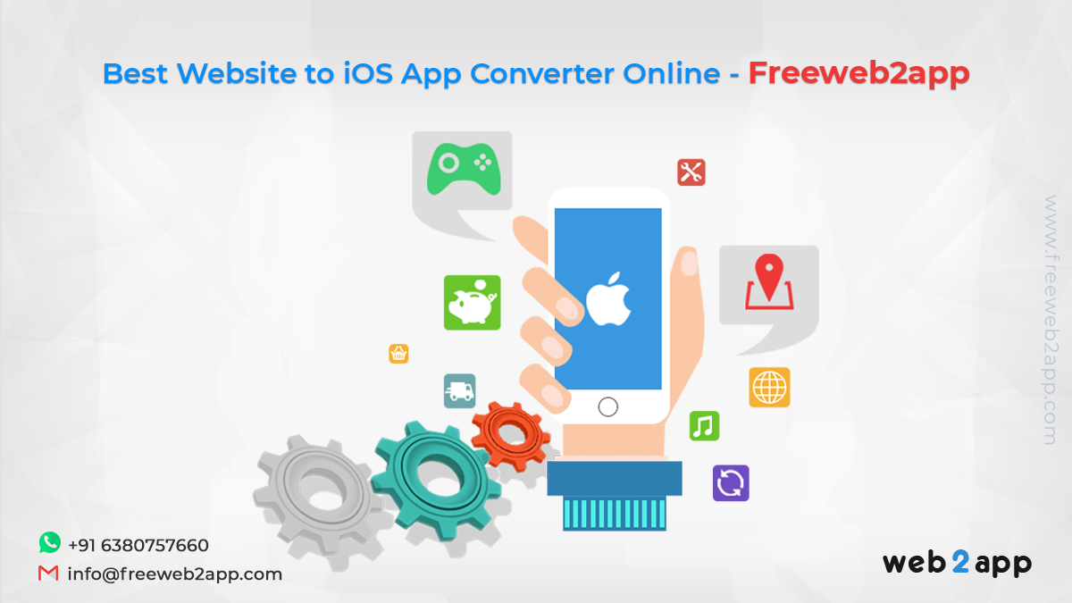 Best Website to iOS App Converter Online Freeweb2ap in