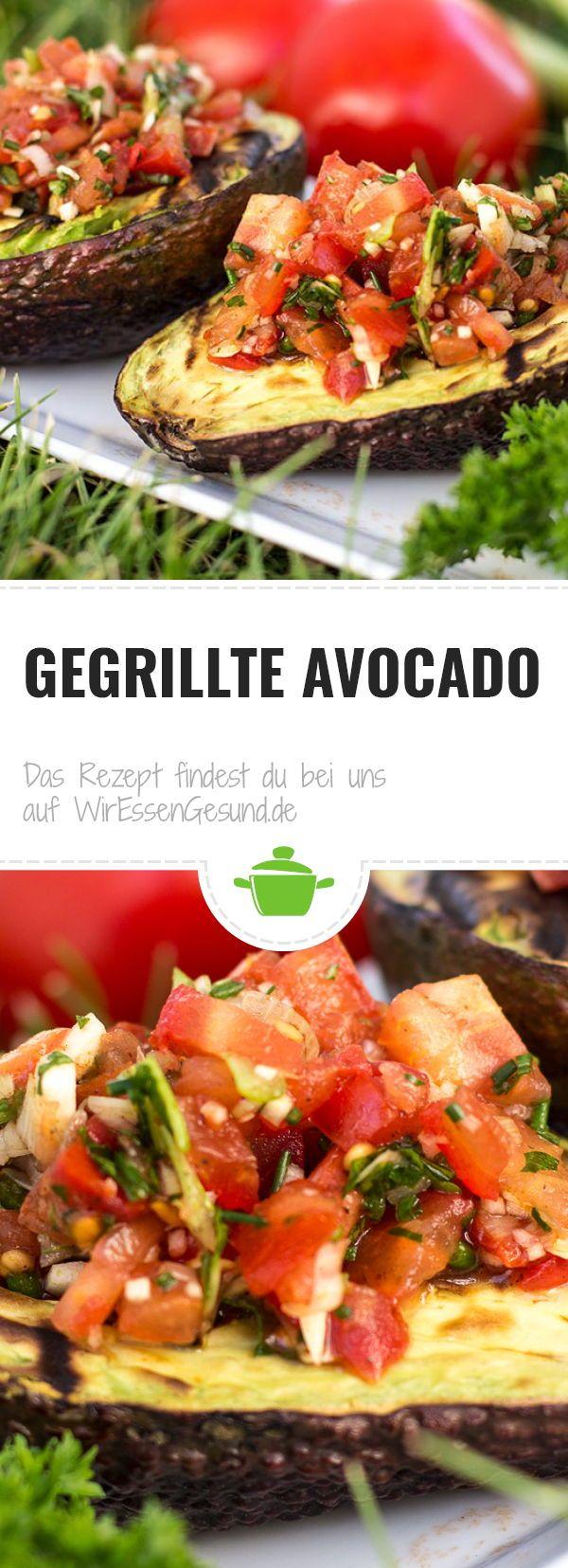 Gegrillte Avocado - WirEssenGesund