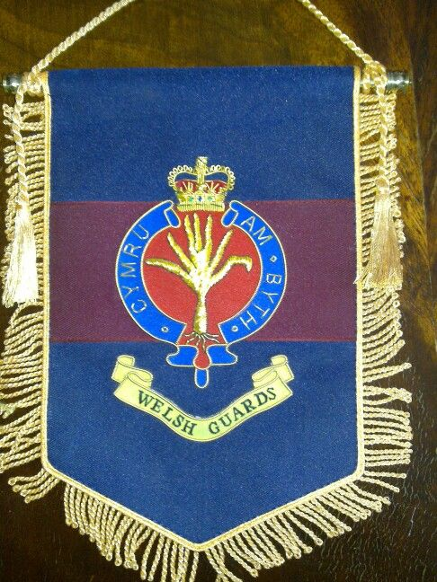 Welsh Guards - Regimental Banner.