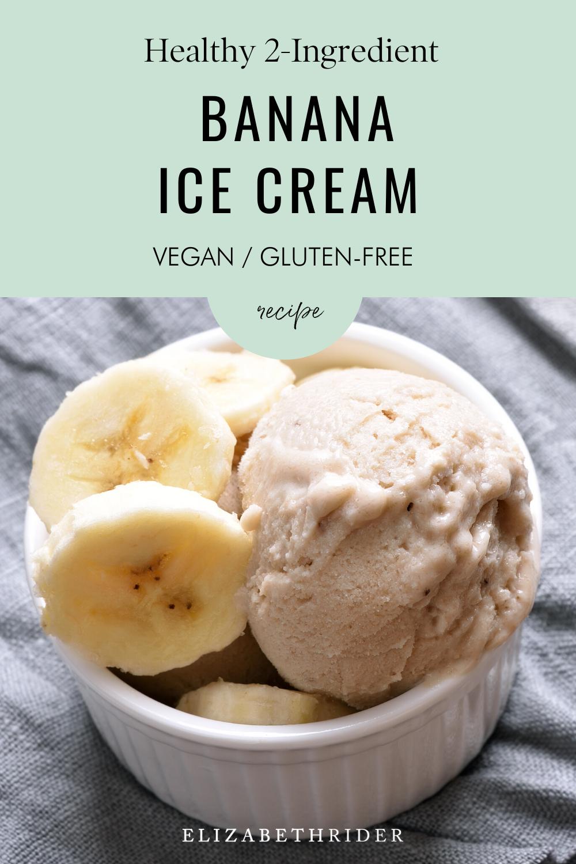 Healthy Homemade Ice Cream Recipe By Elizabeth Rider Recipe In 2020 Homemade Ice Cream Recipes Homemade Ice Cream Vegan Ice Cream Recipe
