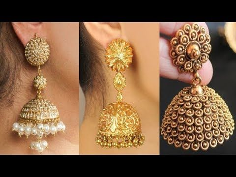613d6e1a15e76 Jewelry Jhumka Design