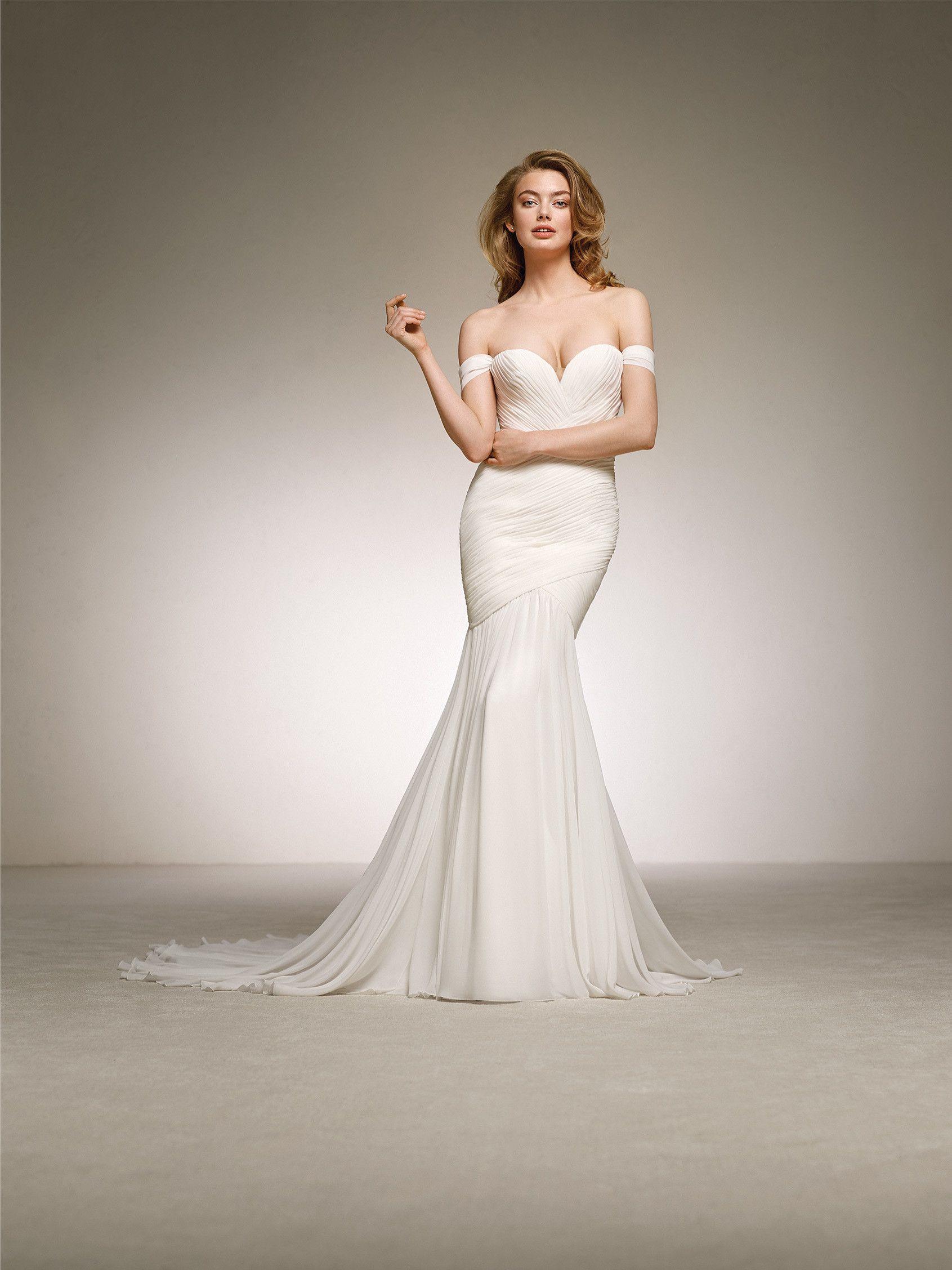 64f1ddbb5 vestido para novia diosa griega - Colección 2018 Pronovias