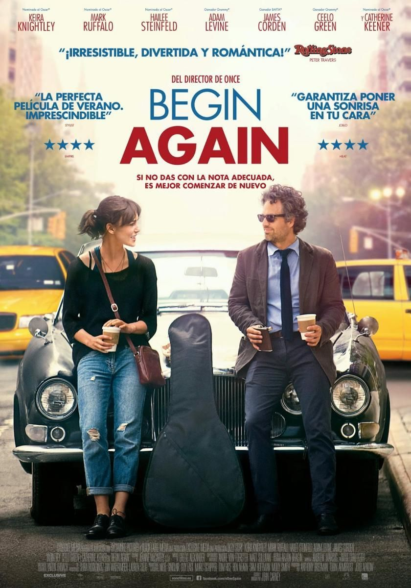 Begin Again Empezar Otra Vez Begin Again Movie Full Movies Full Movies Online Free