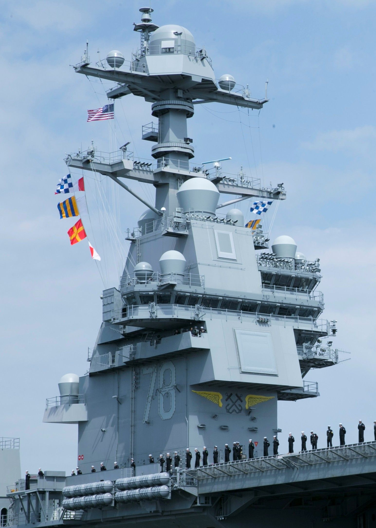 cvn-78 uss gerald r  ford aircraft carrier norfolk virginia