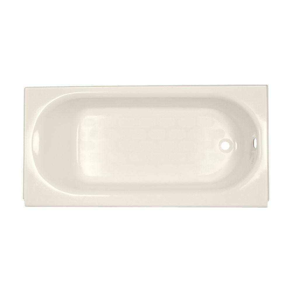 American Standard Princeton Luxury Ledge 5 ft. Right Drain Bathtub ...