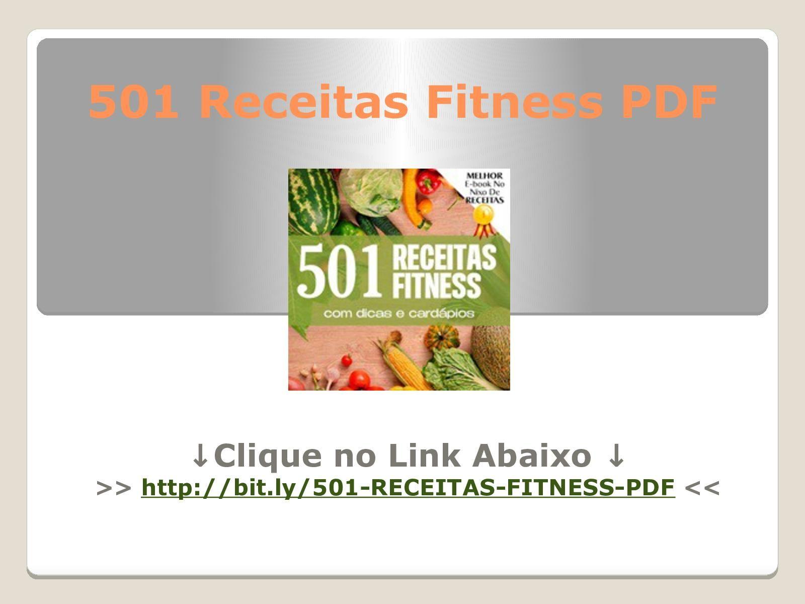 501 Receitas Fitness Pdf Download Gratis Em 2020 Receitas