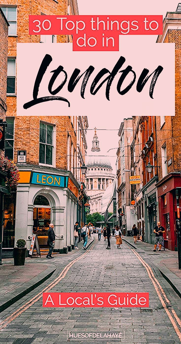 Photo of 30 Things to do in London   The Ultimate London bucket list
