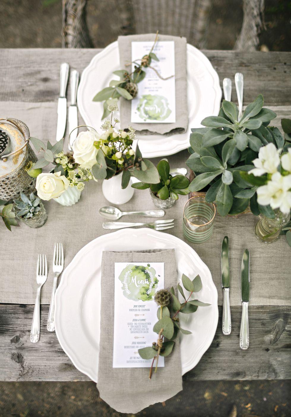 Hochzeitskonzept Vintage Hochzeit Mit Greenery Elementen Vintage Hochzeit Hochzeit Deko Tisch Tischdeko Hochzeit Vintage
