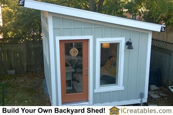 Shed Ideas   Shed Plans   Lean To Shed Office More Now You Can Build ANY  Shed In A Weekend Even If Youve Zero Woodworking Experience!