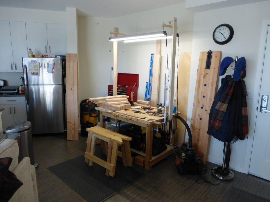 The Apartment Woodworker Hand Tool Woodworking For The Urban
