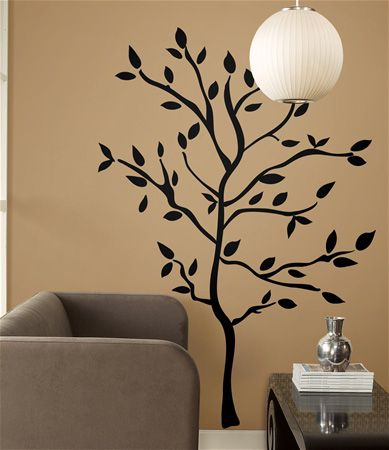 Wall Stickers Peel U0026 Stick Black Tree Branches Applique